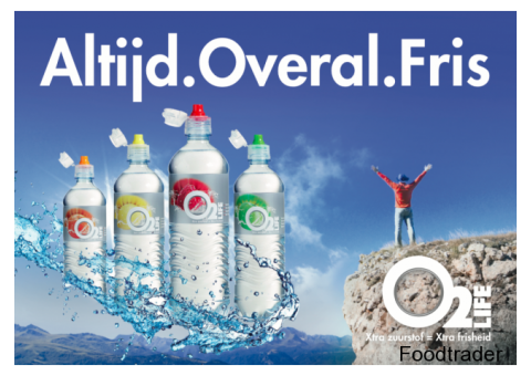 O2 Life smaakwater
